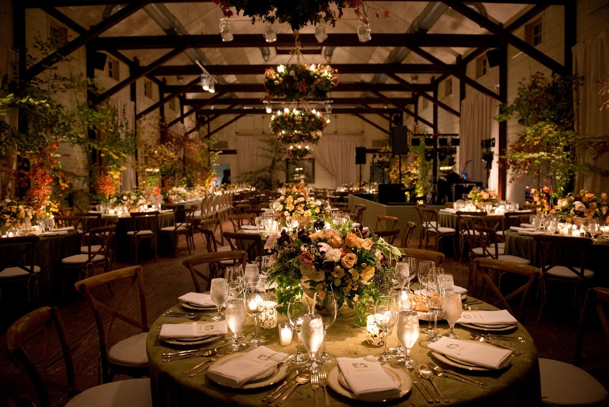 Fall Wedding Table Setting