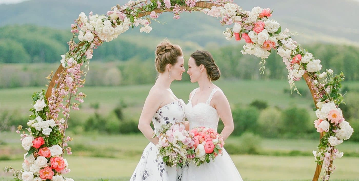 Brides at Altar