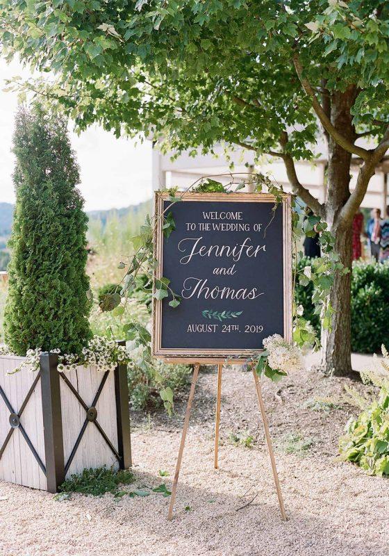 Wedding Signs, Wedding Signage, Welcome Signs, Wedding Decor, Virginia Wedding, Pippin Hill Wedding, Ceremony Decor