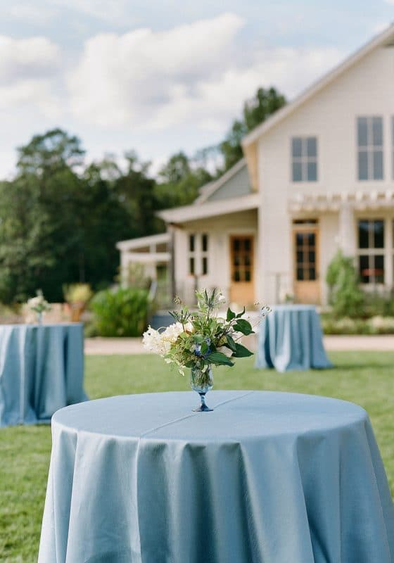 Wedding Decor, Pippin Hill Wedding, Seating Area, Wedding Seating Area, Reception Seating Ideas, Virginia Wedding, Cocktail Hour, Blue Wedding Colors