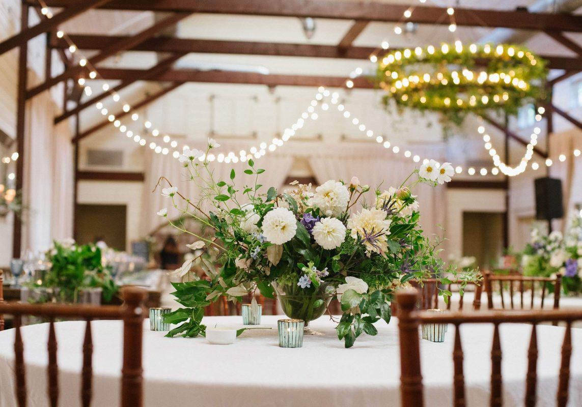 Wedding Decor, Wedding Centerpieces, Reception Florals, Reception Centerpieces, Wedding Flower Arrangements, Wedding Lighting, Reception Decor, Virginia Wedding, Pippin Hill Wedding